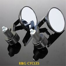 "BAR END MIRRORS FOR 7/8"" BARS-cafe racer-bobber-scrambler-xs650-xs400-cb350"