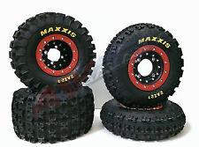 Hiper CF1 Beadlock Rims Maxxis Razr 2 Tires Front/Rear XC Kit Yamaha Raptor 700