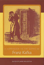 USED (LN) A Companion to the Works of Franz Kafka (Studies in German Literature