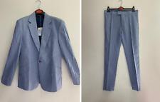 """Vivienne Westwood MAN light blue suit (blazer jacket trousers) size 52 """"James"""""""