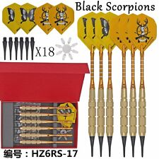 6PCS Professional Dart soft Darts Electronic Soft Tip 19g 18 tips W/ Box