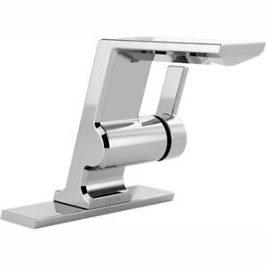 Delta 599-LPU-DST Pivotal  Single-Handle Bathroom Faucet, Chrome