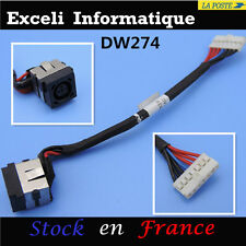 DC power jack socket et fil de câble bloc Dell Inspiron 15R N5040 N5050 M5040 cc