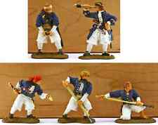 Barzso Royal Navy Gun Crew - 5 painted 54mm resin toy soldiers - uniforms vary