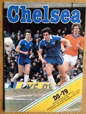 Chelsea v DS-79 1980-81 friendly programme