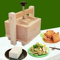 Wooden Tofu Press Mould Set DIY Homemade Cheese Tofu Soybean 200 NEW Mold E2O0