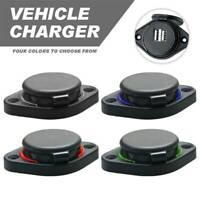 3.1A Car Dual USB Port Charger Socket Outlet LED For car boat motorcycle 12volt/