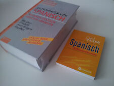 Wörterbuch Spanisch Deutsch und Aufbauwortschatz mini Buch Spanisch Sprachkurs