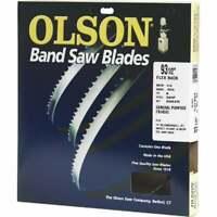 Olson 93-1/2 In. x 1/4 In. 6 TPI Skip Flex Back Band Saw Blade FB14593DB  - 1