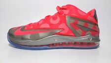 "NEW Men's Nike Lebron XI Low ""La Maison"" 683256-064 Mason Punch 11 Grey sz 10.5"