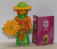 "Playmobil Mystery Figures Series 11 "" FLOWER Girl "" GIRLS 9147"