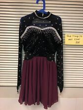 Figure Skating Competition Dress Size Adult Xs Or Girls Xl