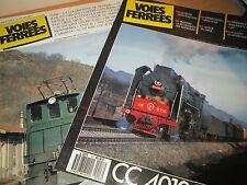 2 Revues « VOIES FERRÉES  N°29 et 53  - Train -Chemin de Fer