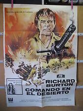 A2561 COMANDO EN EL DESIERTO - 1971 - DE HENRY HATHAWAY CON RICHARD BURTON