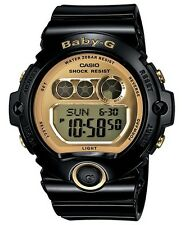 Casio Baby-G * BG6901-1 Gold & Black Resin Mirror Dial Digital COD PayPal