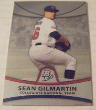 SEAN GILMARTIN RC 2010 Bowman Platinum USA Collegiate baseball card #PP36 BRAVES