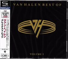 BEST OF VAN HALEN VOLUME I JAPAN 2017 SHM RMST CD +1 - DAVID LEE ROTH - HAGAR
