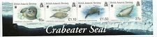 British Antarctic Territory BAT 2009 Scott 410-13 Seals Strip of 4 NH