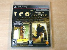 Playstation 3/PS3-ICO & sombra del coloso por Sony/problema de EE. UU.