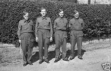 Llandyssil Home Guard Montgomeryshire Powys World War 2 7x5 Inch Reprint Photo