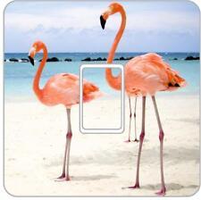 Flamingo Light Switch Vinyl Decal Skin Bedroom Living Room Customise LI07