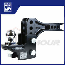 HAYMAN REESE ADJUSTABLE TOW BAR BALL MOUNT TONGUE HITCH TRAILER 4WD 70202 70207