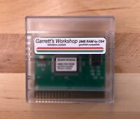 GW4301A -- 2MB RAM for Commodore 64 C64 -- geoRAM compatible -- incl. case