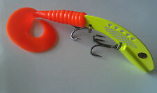 Jigging, casting, trolling Musky, Northern Pike, Lake Trout... blade bait 8.5""