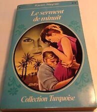 Book in French LE SERMENT DE MINUIT Livre en Francais Collection TURQUOISE