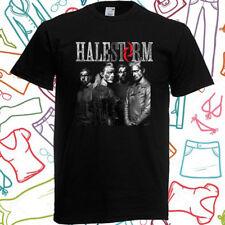 Halestorm Personels Logo Men's Black T-Shirt Size S to 3XL