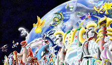 TT005 Pokemon Legendaries Playmats Yugioh MTG Pokemon Vanguard Anime Gaming Mats