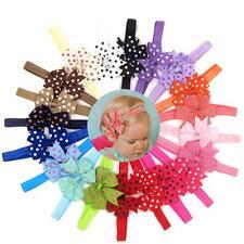 20pc Cute Kids Baby Girl Elastic Bowknot Hair Band Headwear Headband Accessories