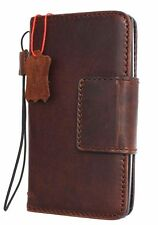Genuine Natural Leather Hard case for LG G Stylo Wallet Luxury Cover Book LS770