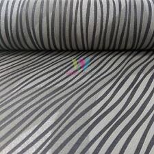 Grandeco Floral Leaf Pattern Wallpaper Embossed Stripe Glitter Motif A23603