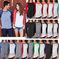 Next Level - Unisex Tri-Blend 3/4 Sleeve Baseball Raglan Tee S-3XL T-Shirt 6051