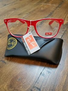 Ray Ban Red Frame Glasses