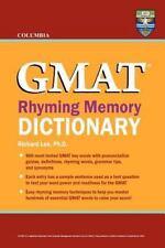 Columbia GMAT Rhyming Memory Dictionary (Paperback or Softback)