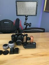 Lumix GH5 Mirrorless Camera - Dream Video Set Up - Rig - Lenses - Mic - Lights
