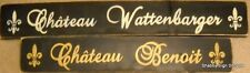 Personalized CHATEAU Sign French Farmhouse Paris Family Custom U-Pick Color HP
