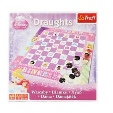 OFFICIAL DISNEY PRINCESS Draughts Children's Kid's Board Game NEW