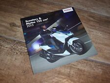 Catalogue /  Brochure HONDA 125 cm3 / 125 cc Gamme / Full line 2015 //
