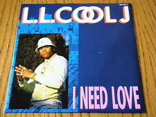"L.L. COOL J - I NEED LOVE  7"" VINYL PS"