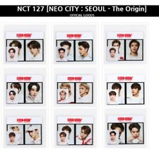 NCT 127 NEO CITY SEOUL The Orig Film + ID Photo card Set SM TOWN Official Goods