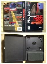 The Need for Speed PS1 PlayStation 1 Long Box only. - NO GAME