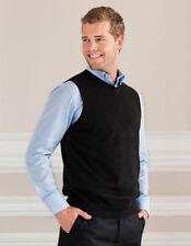 Unifarbene Herren-Pullover & -Strickware mit V-Ausschnitt in Größe XL