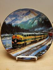 """""""The Empire Builder"""", Ted Xaras Train Collector Plate"""