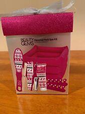 Beauty Gems Personal Pedi Spa Kit