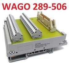 Wago 289-506 34 Pol di trasferimento blocco predefinito penna barra DIN 41651 interface modulo PIN