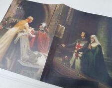 Medieval Knights Plastic Folder ~ Religious Catholic Crusader ~ Leighton & Dore
