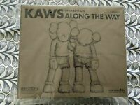 KAWS Along The Way Figure Brown Companion Medicom Vinyl Figure Chum Authentic